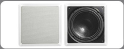 C-1002 In-wall Subwoofer