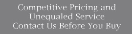 Competitive Pricing and Unequaled Service